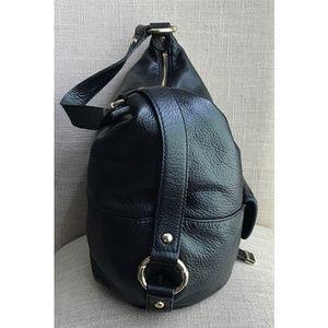 Michael Kors Bags - Michael Kors Fulton Black Leather Hobo Handbag